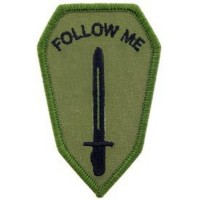 PATCH ARMY INFANTRY SCHOOL SUBDUED