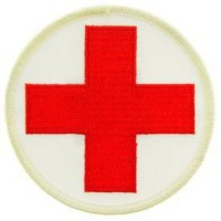 PATCH MEDIC RED CROSS RND