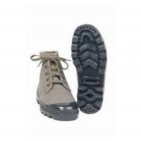 Rangers/Chaussures toile canvas 5 trous vert olive Pataugas