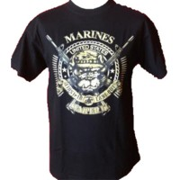 Tee shirt us marines sempers
