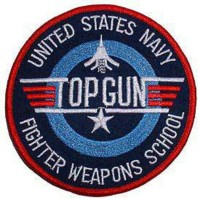 PATCH / ECUSSON fighter school top gun