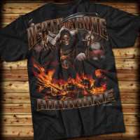 "Tee shirt airborne ""DEATH FROM ABOVE"" 7.62"