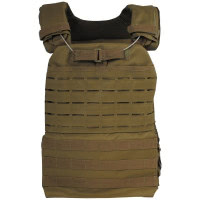 Gilet tactique Laser MOLLE - Coyote