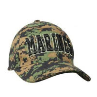 Casquette Marines Digital Woodland