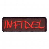 Patch US -infidel - Rouge
