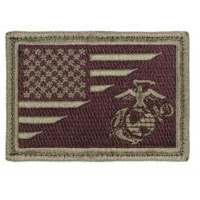 Patch USA /USMC - Rothco  Sable