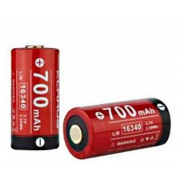 Batterie rechargeable Lithium-Ion 16340 3.7V 700 mAh