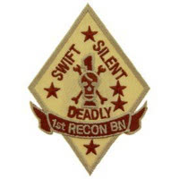 PATCH / ECUSSON - U.S. MARINE, swift silence deadly