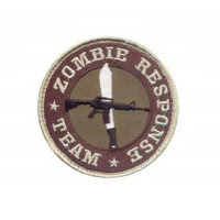 Patch militaire airsoft velcro zombie team
