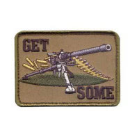 Patch militaire airsoft get some velcro