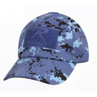 Casquette tactique triple Velcro digital sky blue