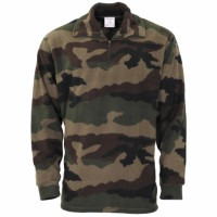Chemise militaire F1 polaire camouflage