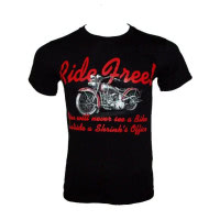 Tee shirt noir Ride Free