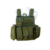 gilet tactical type ciras OD , Coyote , Noir