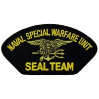PATCH / ECUSSON USN SEAL TEAM SPEC