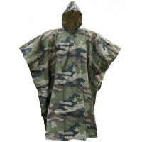 Poncho ripstop camouflage cam ce militaire