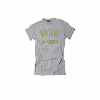 Tee Shirt Vintage KORPS gris chiné
