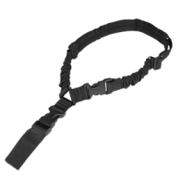 Sangle 1 point Bungee Condor- Noir - Compatible HK 416