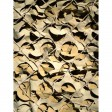 Filet de camouflage renforcé Sable, 3m x 3m, CamoSystems surplus militaire